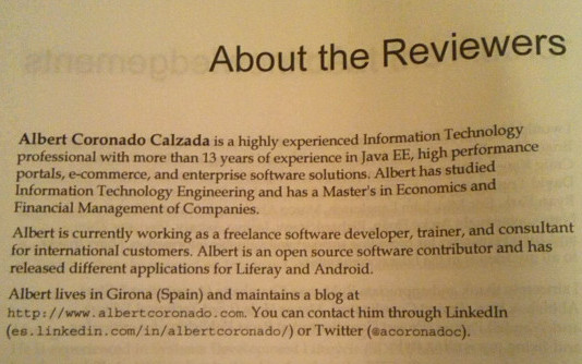 Technical reviewer en Liferay 6.2 User Interface Development