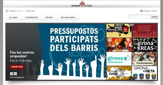 Girona Visor de contenidos