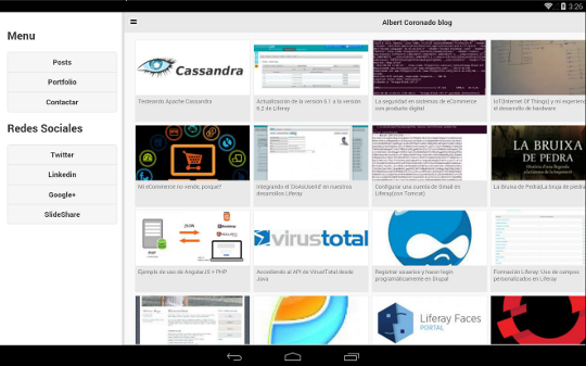 HTML5 app embedded Android