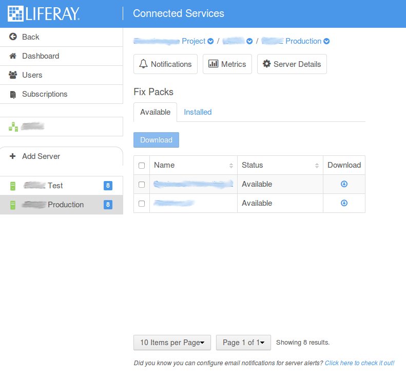 Liferay Connected Services