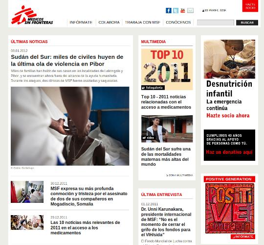 Proyecto Medicos Sin Fronteras