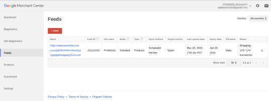 Google Shopping Feed