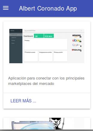 Albert Coronado App