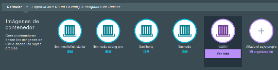 IBM Bluemix docker container