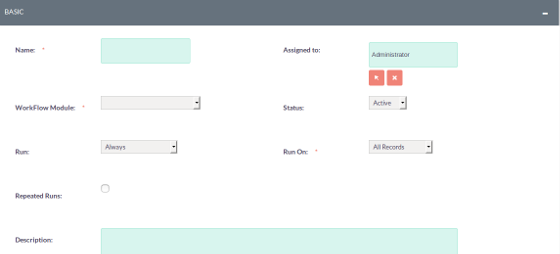 SuiteCRM Screenshot 2