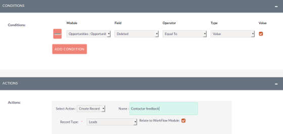 SuiteCRM Screenshot 3
