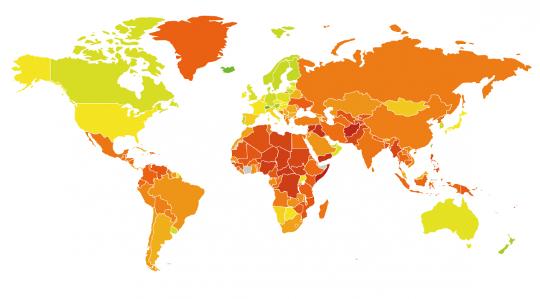 Mapa países