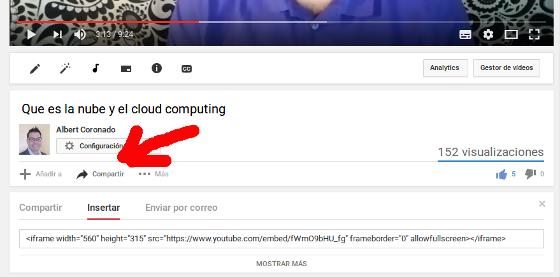 Vídeo Youtube Responsive