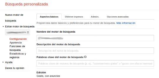 Integración buscador Google 2