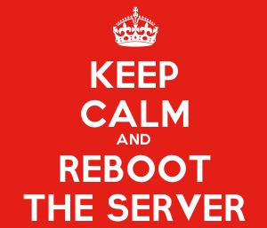 Reiniciar servidor