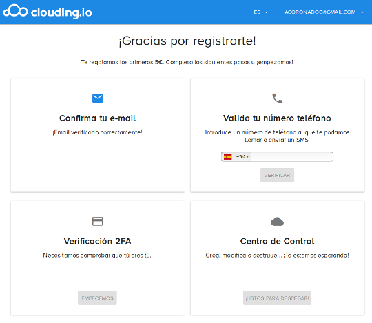 Ansible Clouding.io 2